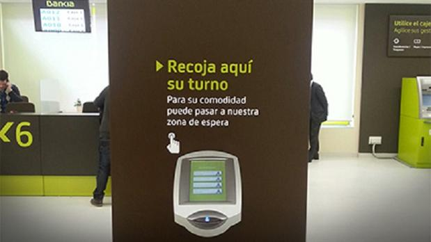 Qmatic solo ayuda a bankia con el servicio a los clientes for Oficina agil bankia