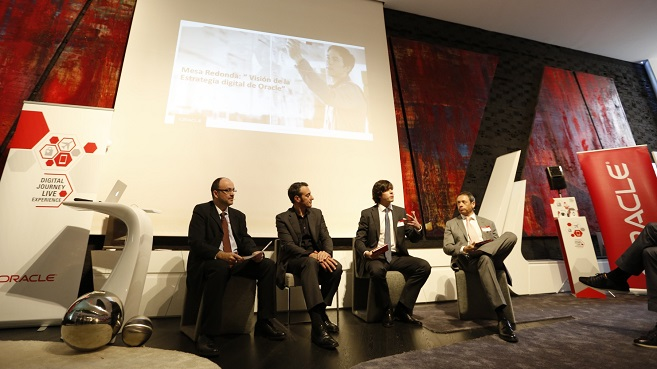 Oracle evento real time mesa redonda