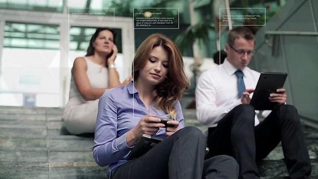 Seguridad y Movilidad de empresa, mujeres, escaleras, empresa