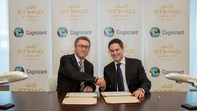 Acuerdo Etihad Airways y Cognizant