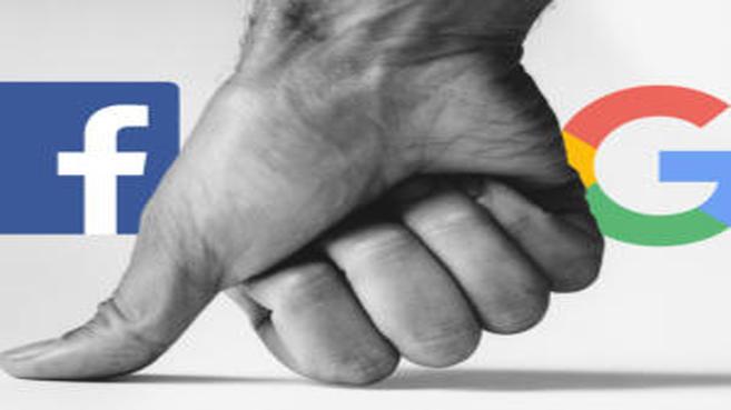 Google y Facebook incrementan  su duopolio en publicidad digital