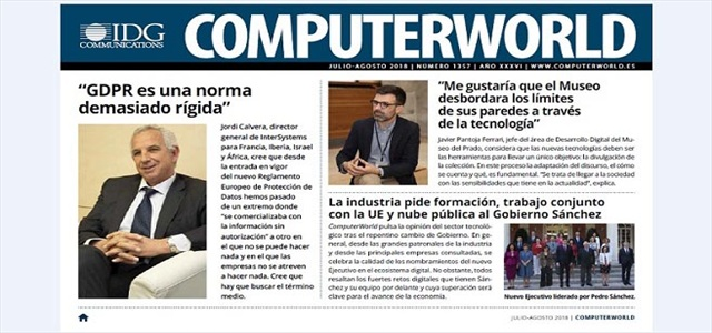 Computerworld julio agosto 2018