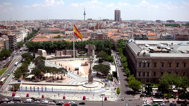 Plaza de Colón Madrid