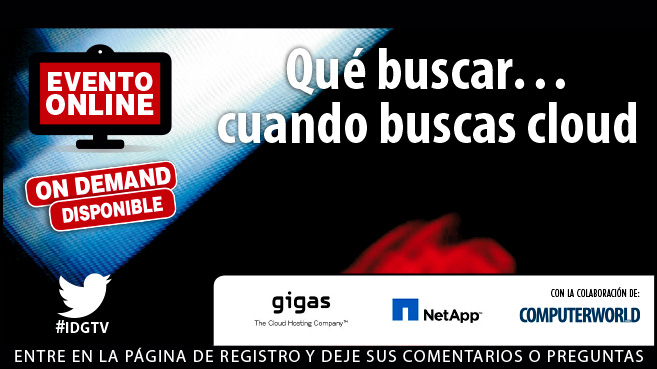 Evento gigas_NetApp_Cloud