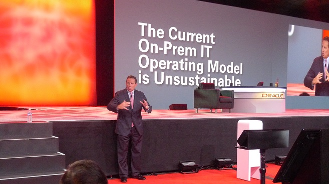 Mark Hurd Oracle OpenWorld2015