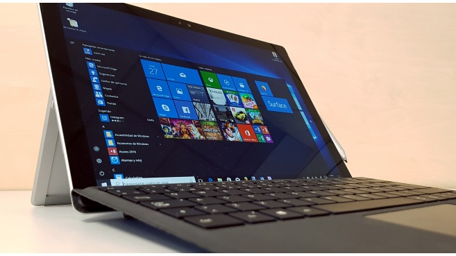 Windows 10 en Surface Pro 4