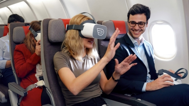 Inflight VR Iberia realidad virtual avión