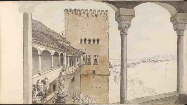 The Watercolour World Alhambra The British Museum