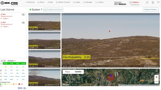 IBM Watson Compta  Bee2FireDetection
